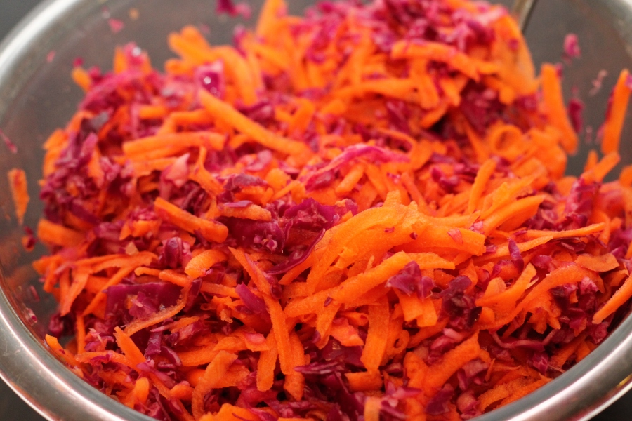 carrot cabbage slaw vegan