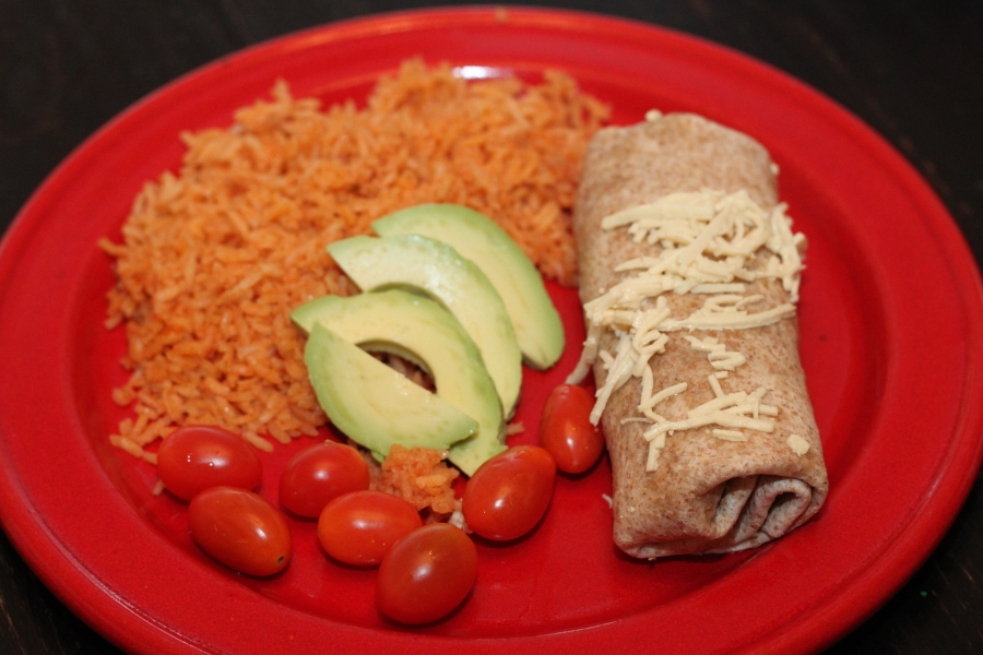 vegan enchilada without sauce